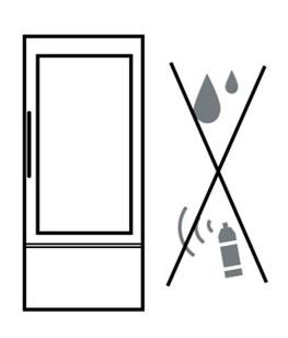 Перед включением в сеть помойте холодильник мыльным раствором