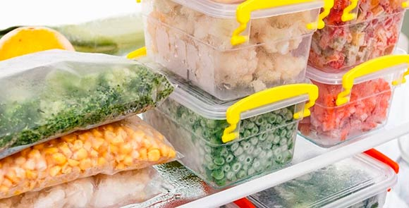 Do not put extra products in the freezer compartment